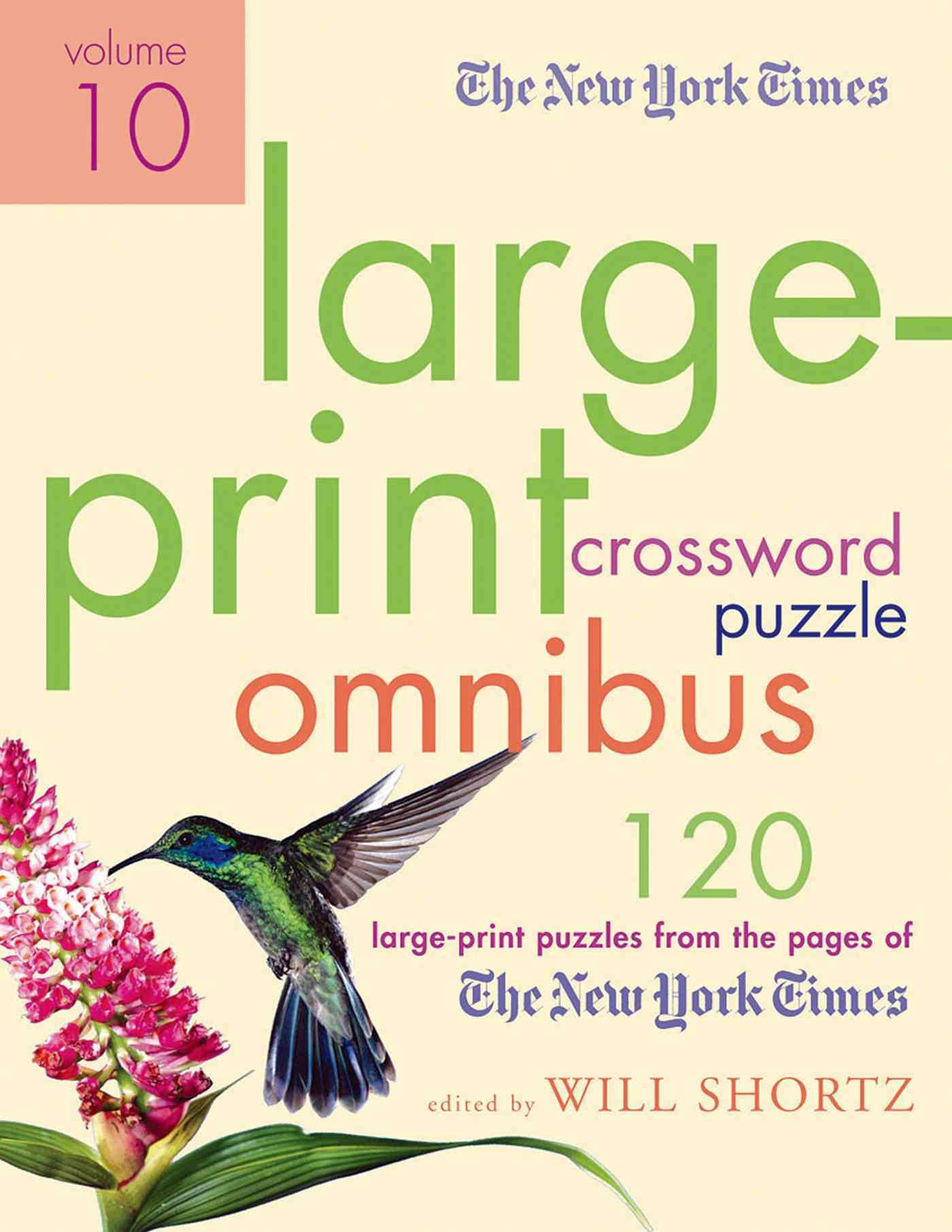 The New York Times Crossword Puzzle Omnibus: 120 Large-Print Puzzles from the Pages of the New York Times (Paperback)