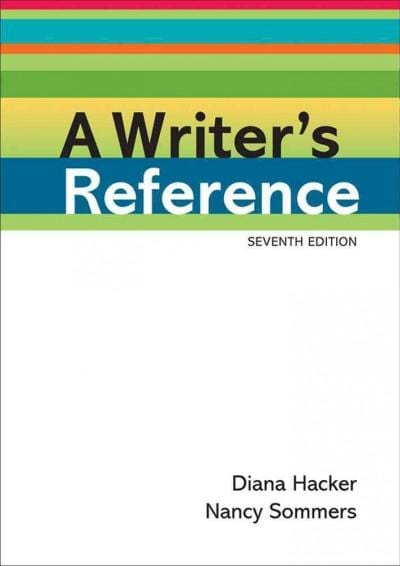 A Writer's Reference (Paperback)