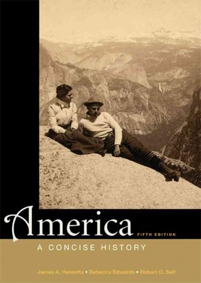 America: A Concise History (Paperback)