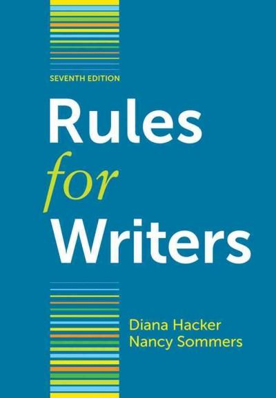 Rules for Writers (Paperback)