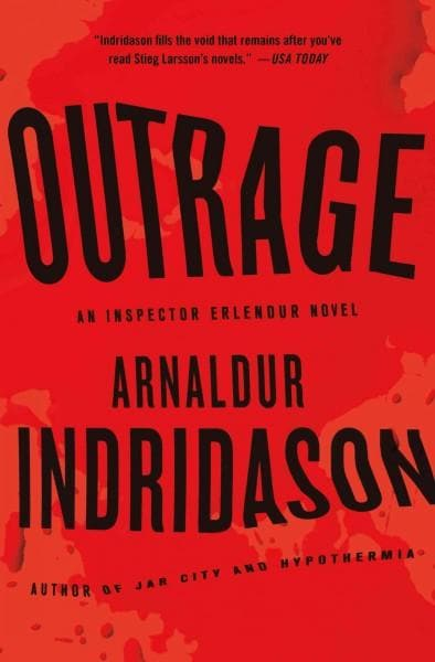 Outrage: An Inspector Erlendur Novel (Hardcover)