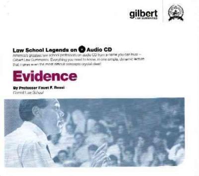 Evidence, 2005 Edition (CD-Audio)