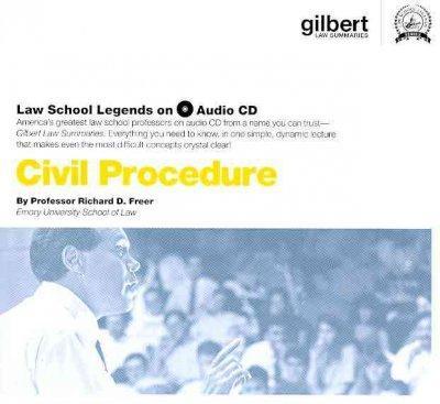 Civil Procedure (CD-Audio)