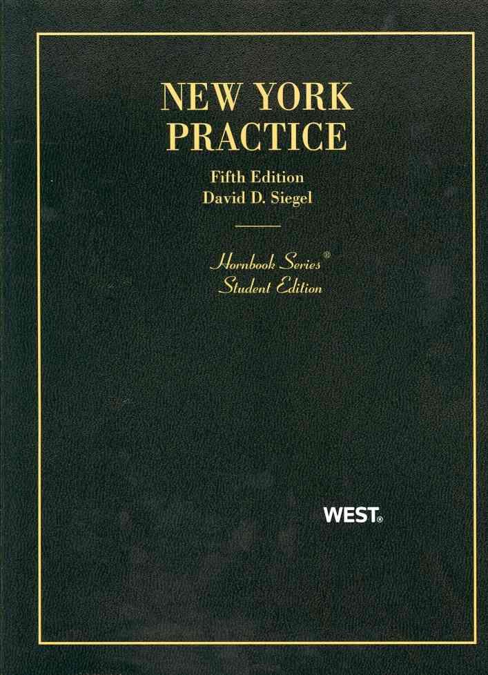 New York Practice (Paperback)