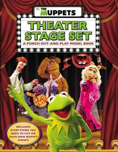 The Muppets Theater Stage Set: A Punch Out-and-Play Model Book (Paperback)