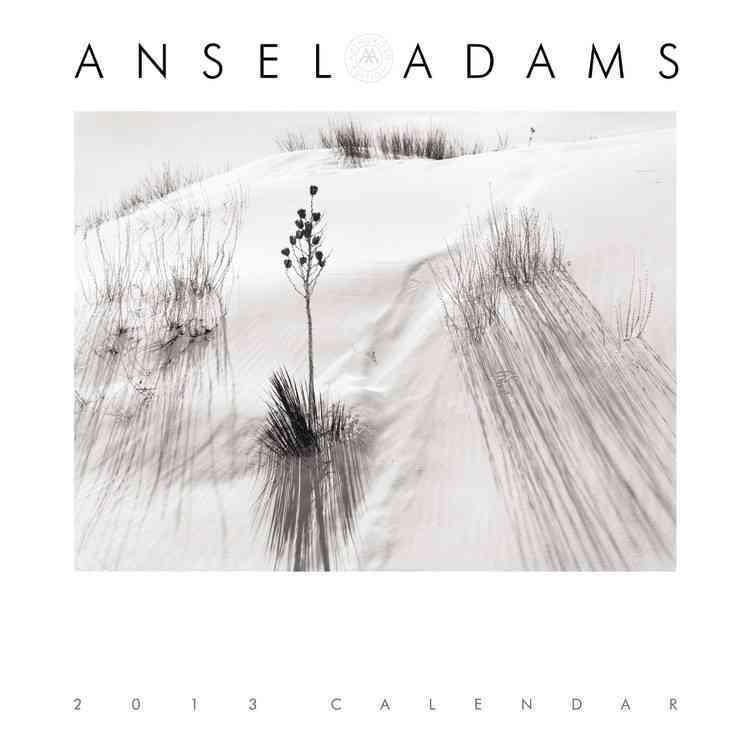 Ansel Adams Calendar 2013