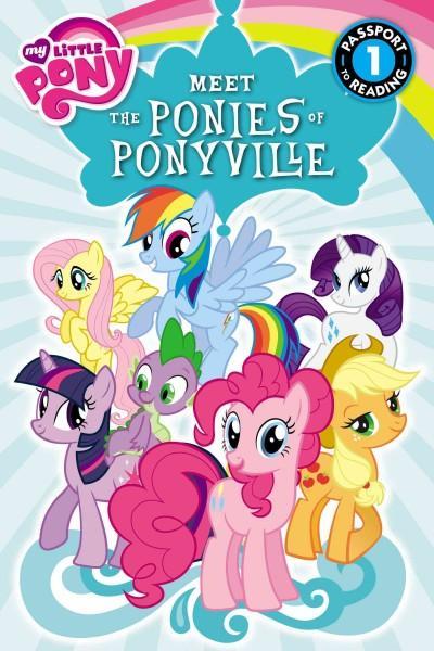 Meet the Ponies of Ponyville (Paperback)