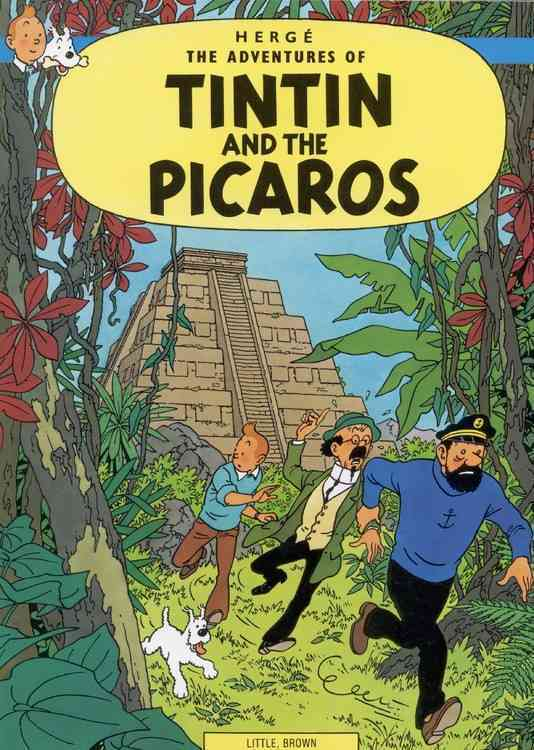 The Adventures of Tintin and the Picaros (Paperback)