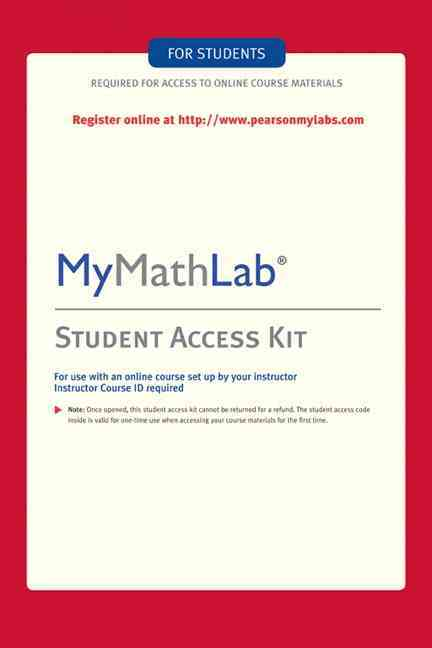 My Math Lab: Student Access Kit (Hardcover)