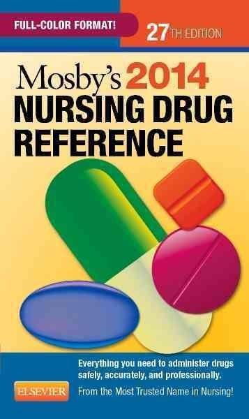Mosby's Nursing Drug Reference 2014 (Paperback)