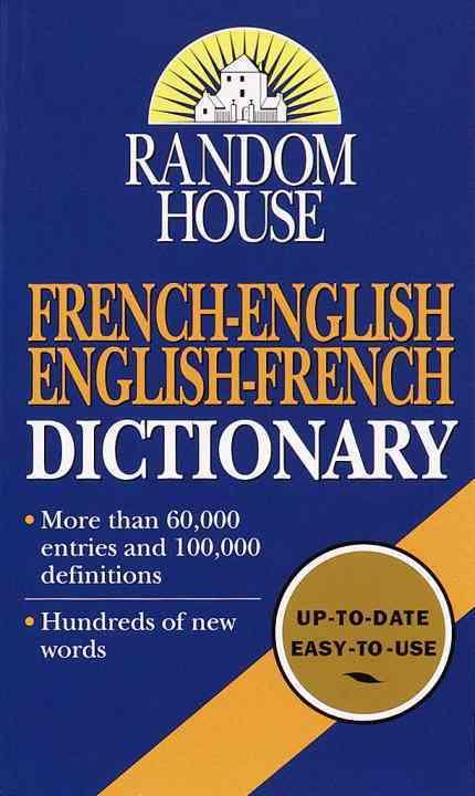 Random House French-English English-French Dictionary (Paperback)