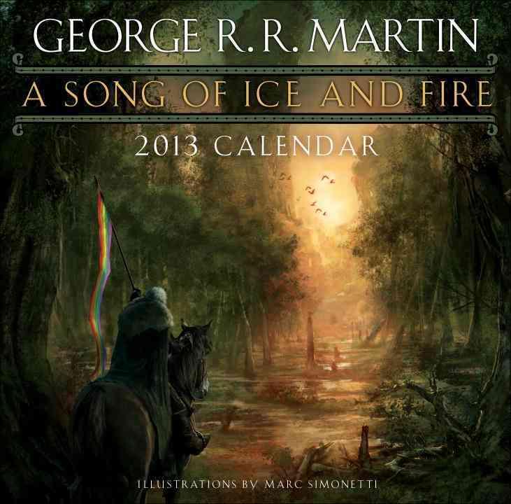 A Song of Ice and Fire 2013 Calendar(Calendar)