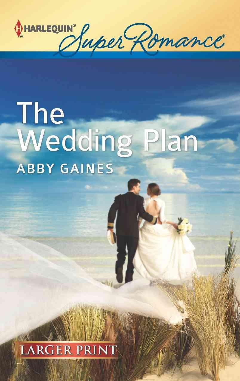The Wedding Plan (Large Print,Paperback)