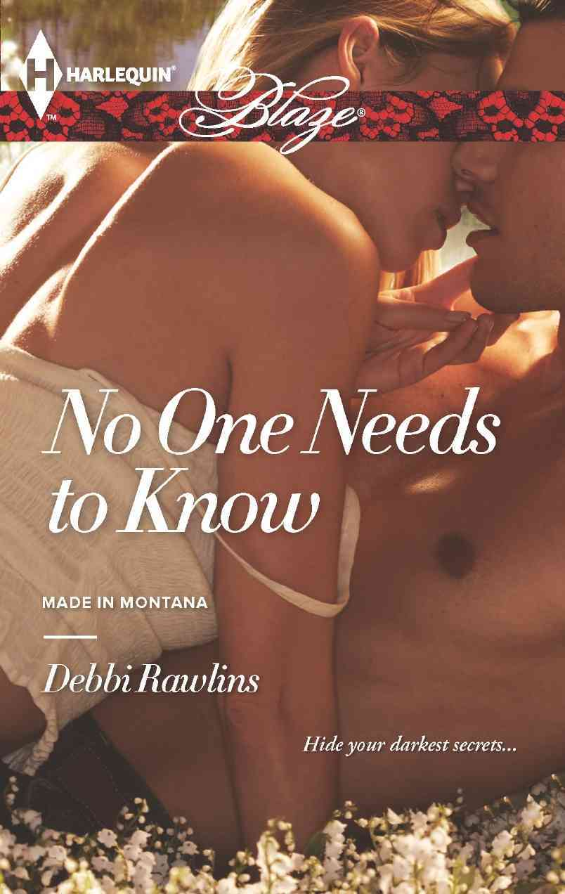 No One Needs to Know (Paperback)