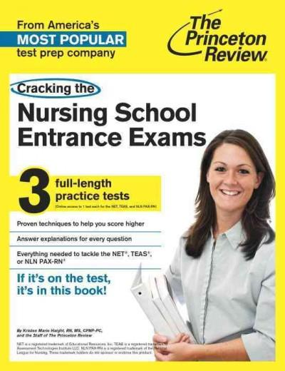 Cracking the Nursing School Entrance Exams (Paperback)
