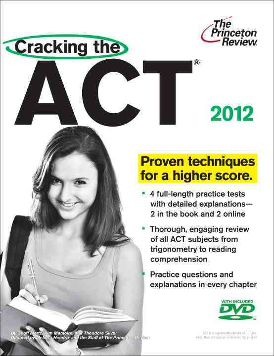 Cracking the Act, 2012 (Mixed media product)