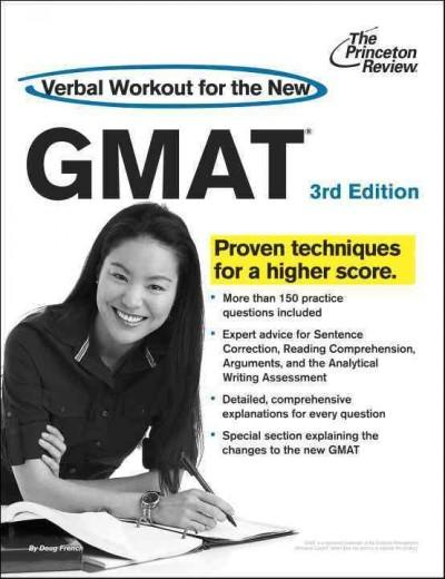 Verbal Workout for the New GMAT (Paperback)