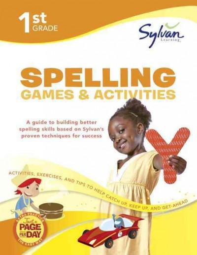 1st Grade Spelling Games & Activities (Paperback)