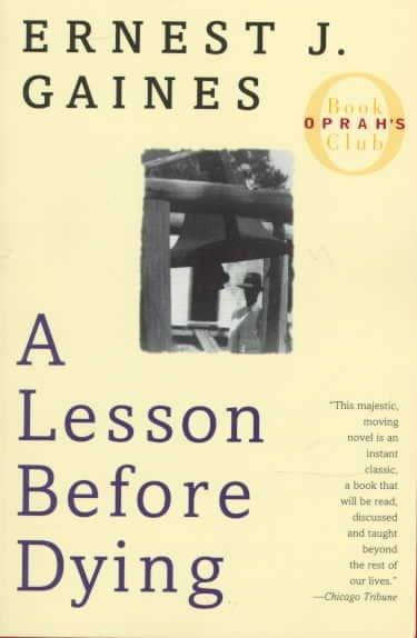 A Lesson Before Dying (Paperback)