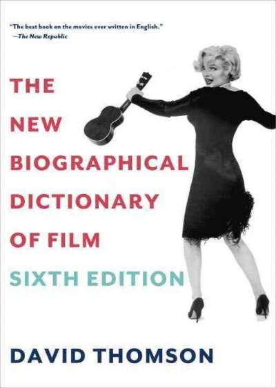 The New Biographical Dictionary of Film (Paperback)