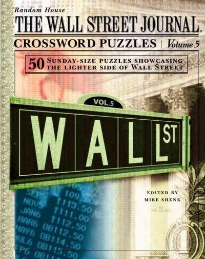 The Wall Street Journal Crossword Puzzles (Spiral bound)