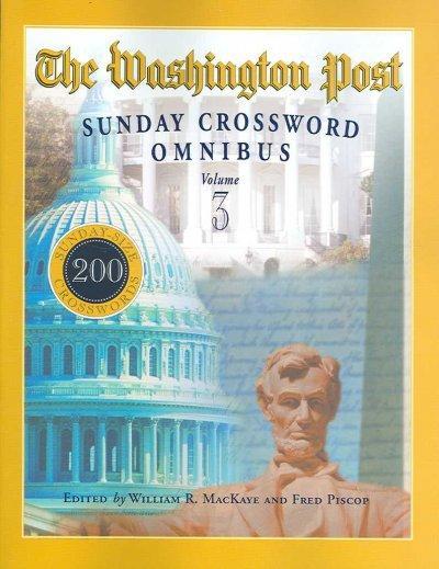 The Washington Post Sunday Crossword Omnibus (Paperback)