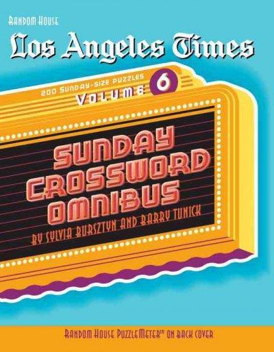Los Angeles Times Sunday Crossword Omnibus (Paperback)