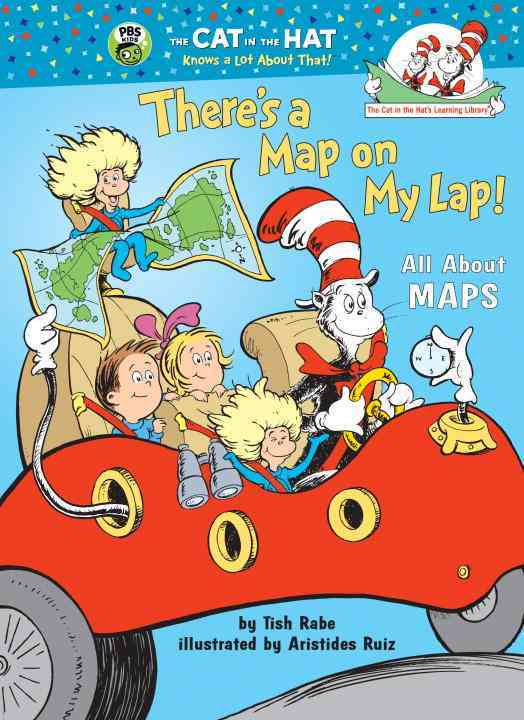 There's a Map On My Lap!: All About Maps (Hardcover)