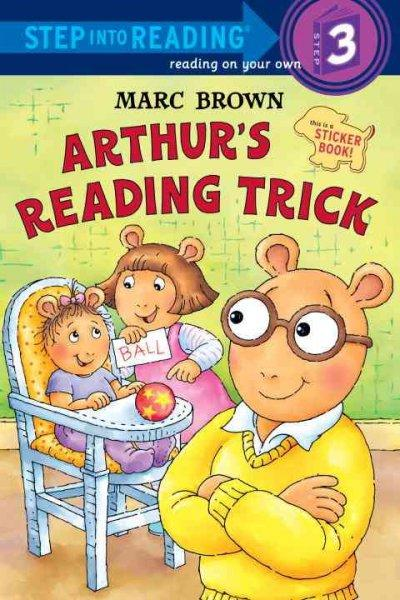 Arthur's Reading Trick (Paperback)