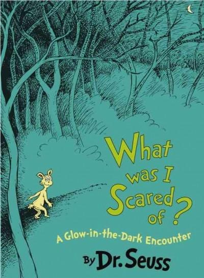 What Was I Scared Of?: A Glow-in-the Dark Encounter (Hardcover)