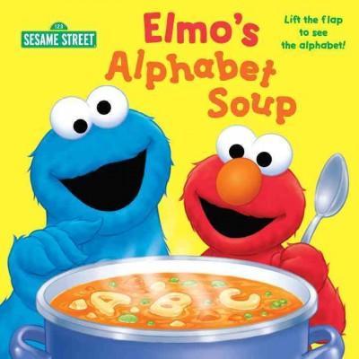 Elmo's Alphabet Soup (Board book)