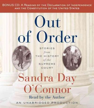 Out of Order: Stories from The History of the Supreme Court (CD-Audio)