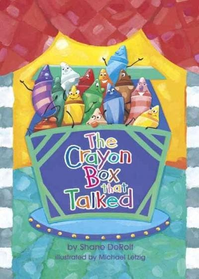 The Crayon Box That Talked (Board book)