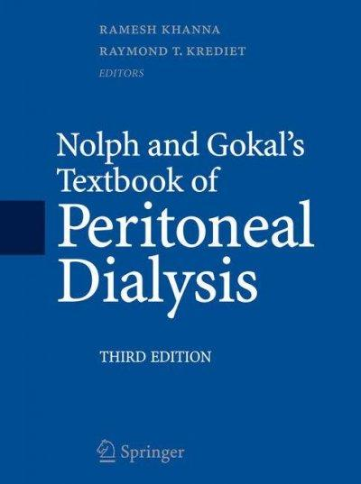 Nolph and Gokal's Textbook of Peritoneal Dialysis (Hardcover)