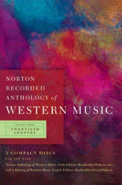 Norton Recorded Anthology of Western Music (CD-Audio)
