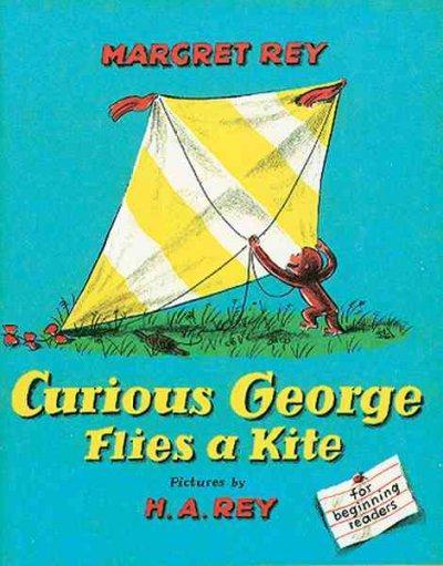 Curious George Flies a Kite (Paperback)