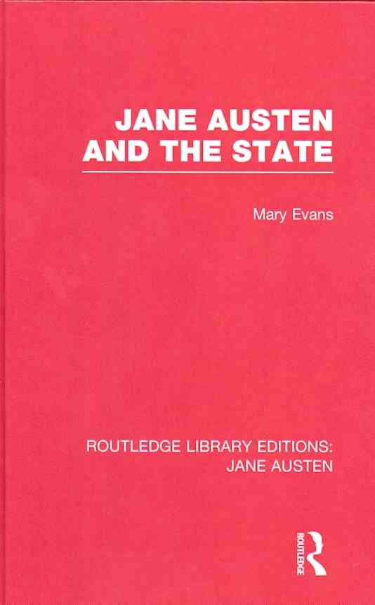 Jane Austen and the State (Hardcover)