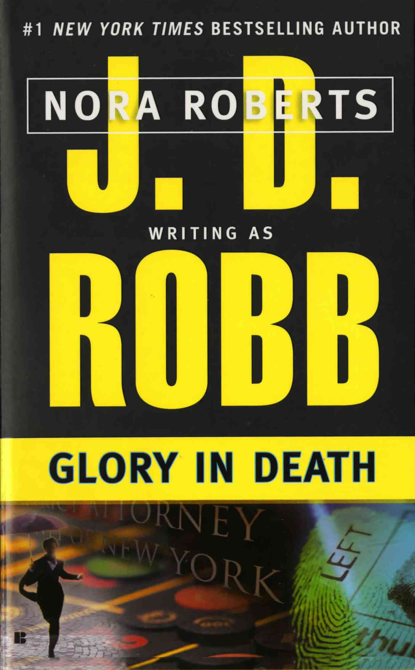 Glory in Death (Paperback)