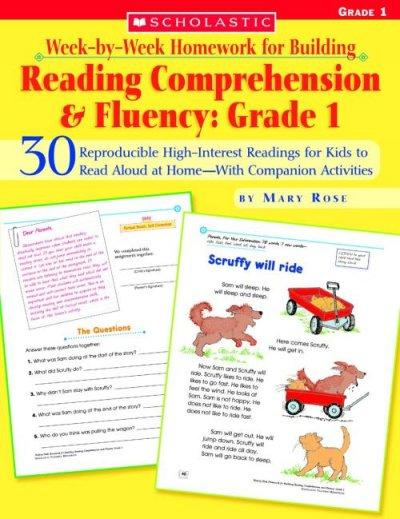 Week-by-week Homework for Building Reading Comprehension and Fluency: 30 Reproducible High-Interest Readings for ... (Paperback)