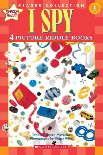 I Spy: 4 Picture Riddle Books (Hardcover)