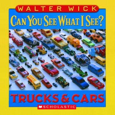 Can You See What I See?: Trucks and Cars (Board book)