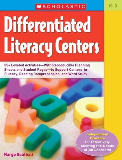 Differentiated Literacy Centers (Paperback)