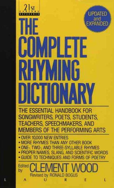 The Complete Rhyming Dictionary (Paperback)
