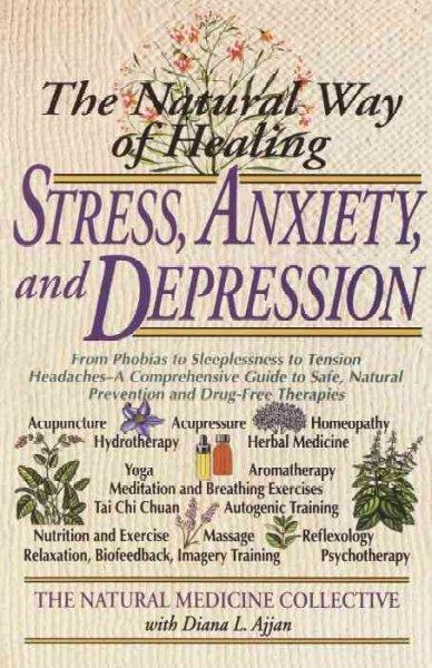 The Natural Way of Healing Stress, Anxiety, and Depression (Paperback)