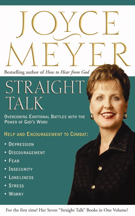 Straight Talk: Overcoming Emotional Battles With The Power Of God's Word (Hardcover)