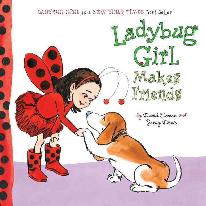 Ladybug Girl Makes Friends (Board book)