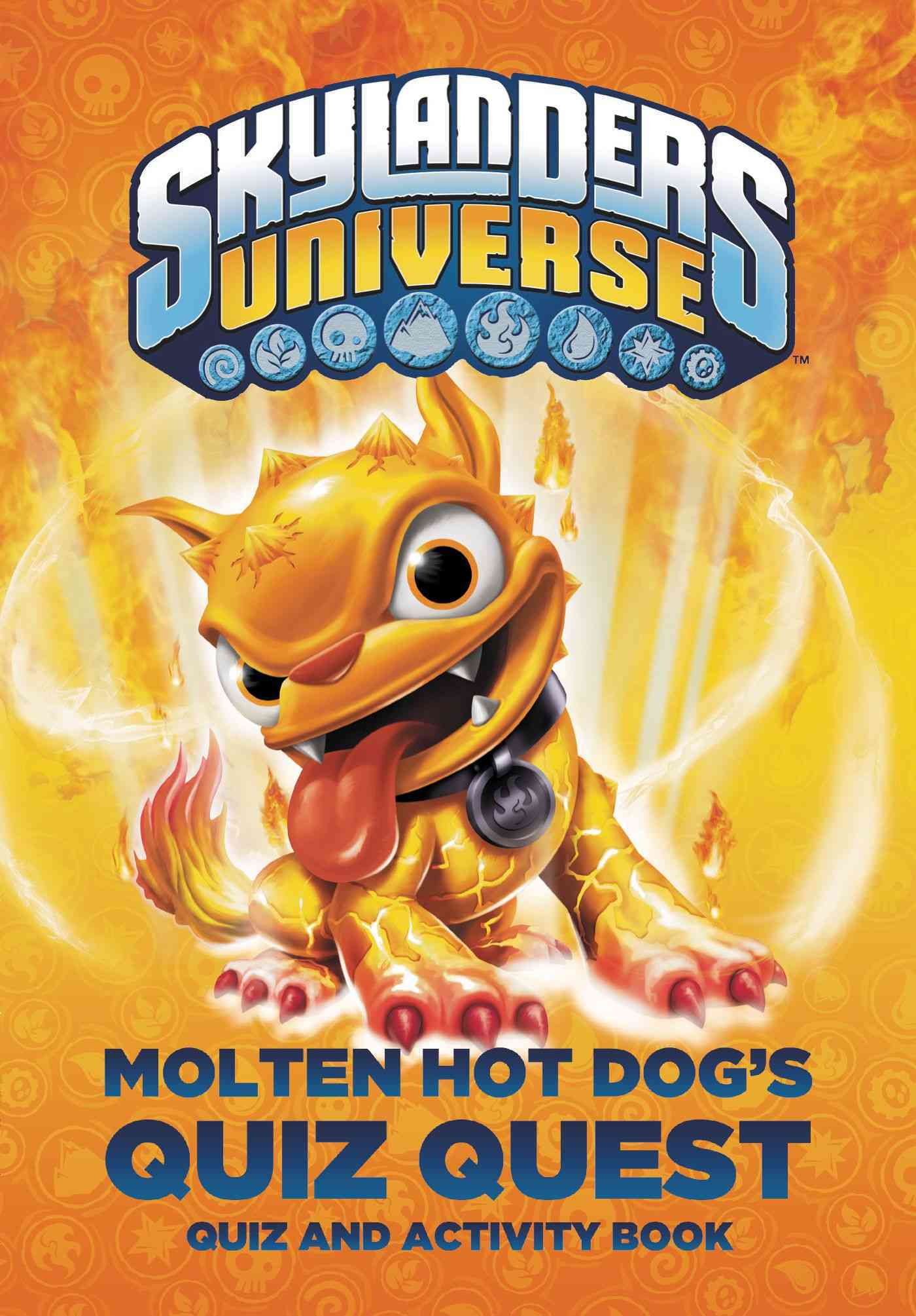 Molten Hot Dog's Quiz Quest (Hardcover)