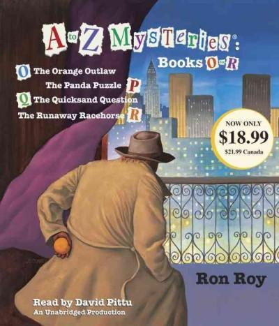 A to Z Mysteries Books O-r (CD-Audio)