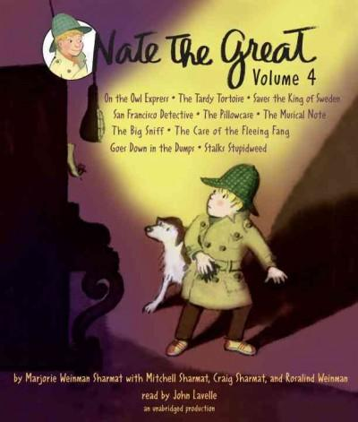 Nate the Great: On the Owl Express; The Tardy Tortoise; Saves the King of Sweden; San Francisco Detective; The Pil... (CD-Audio)