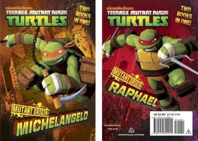 Mutant Origin Junior Novel: Michelangelo/Raphael (Paperback)